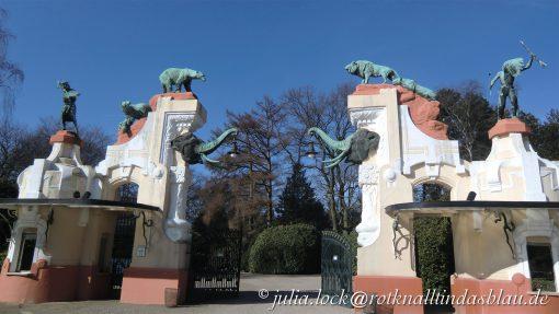 Historisches Jugendstil-Tor
