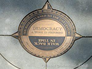 Democracy a work in progress