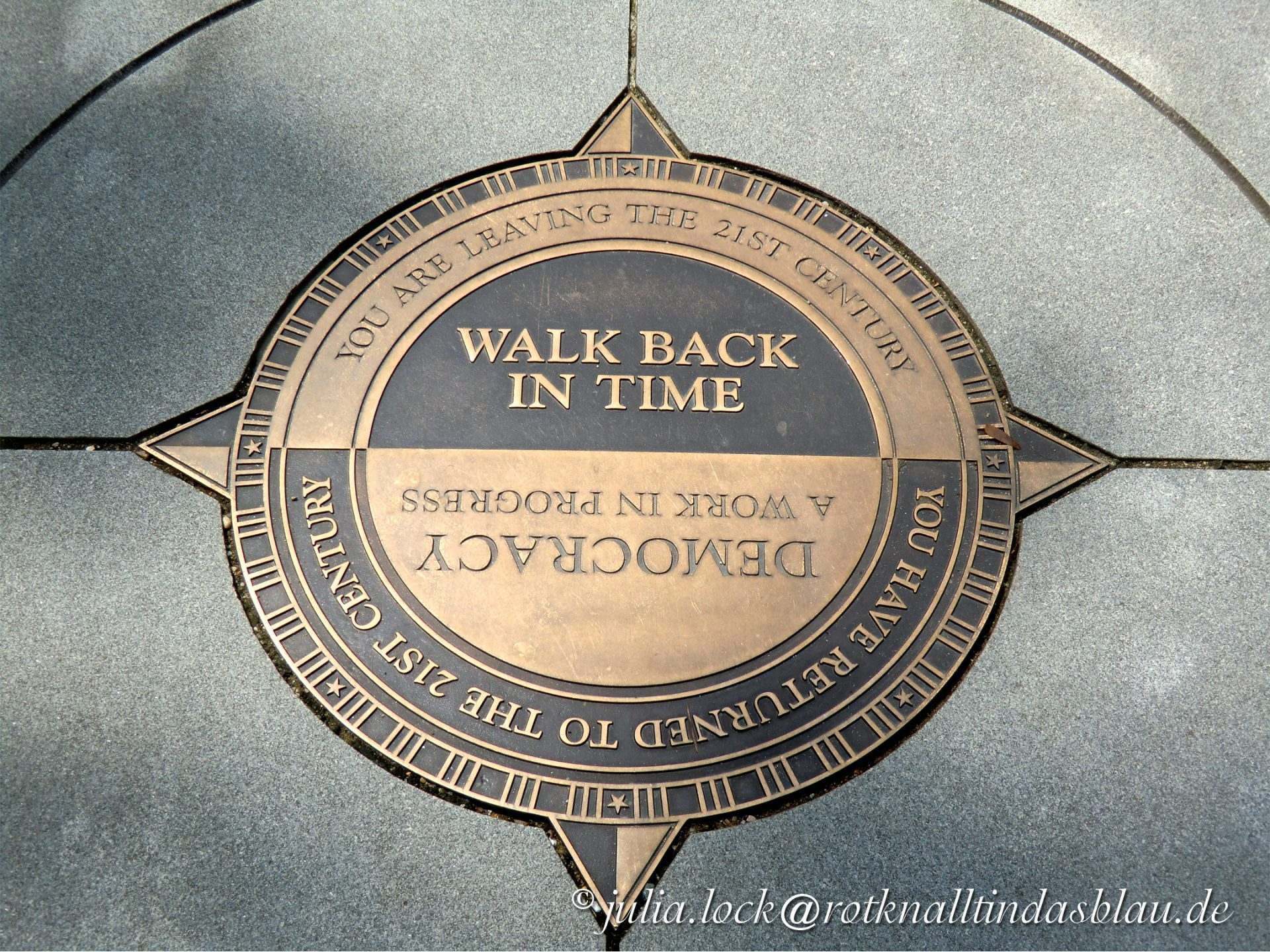 walk back in time