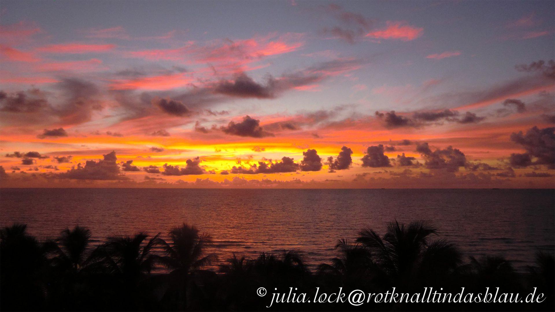 Sonnenaufgang, Miami Beach, Florida, USA