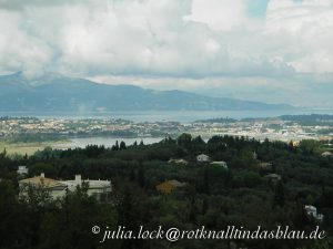 Blick über Korfu