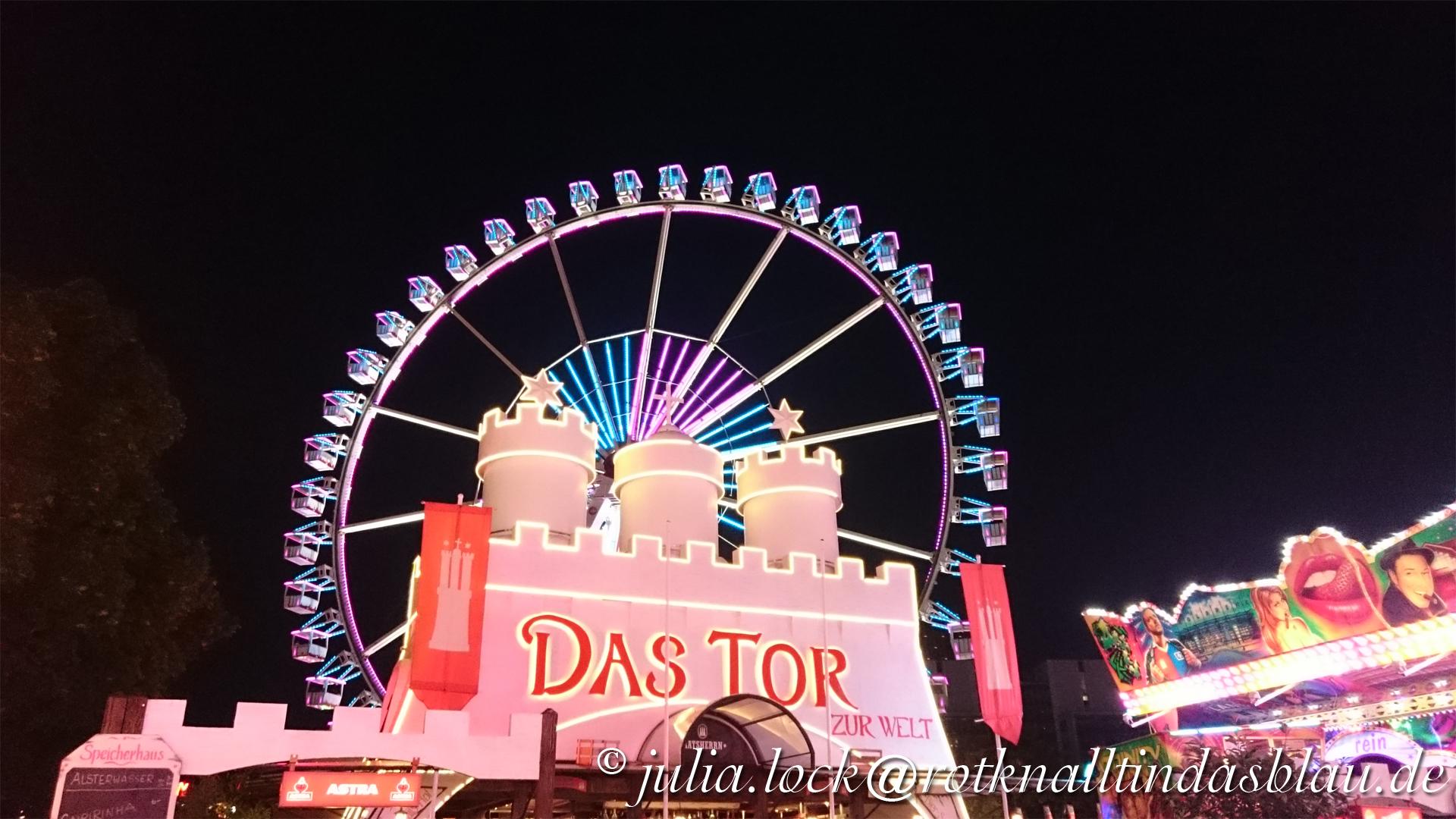 Hamburg, Dom, Jahrmarkt, Rummel, Riesenrad