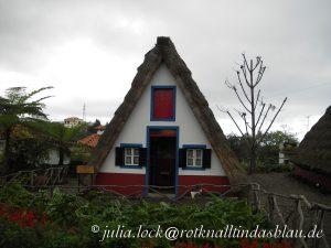 traditionelles madeirisches Bauernhaus23.10.2010, Kuh, Madeira, Portugal