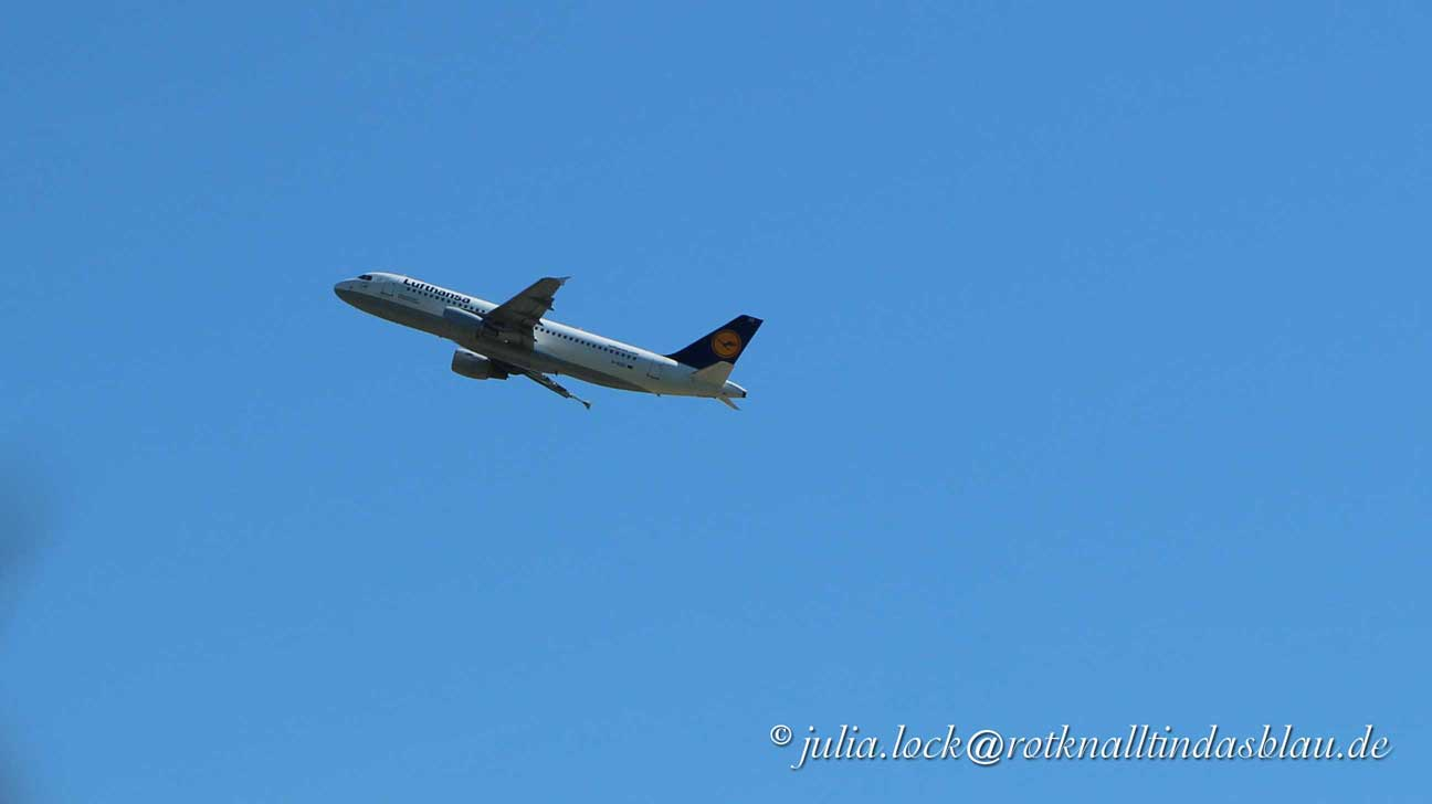 Flugzeug Fernweh