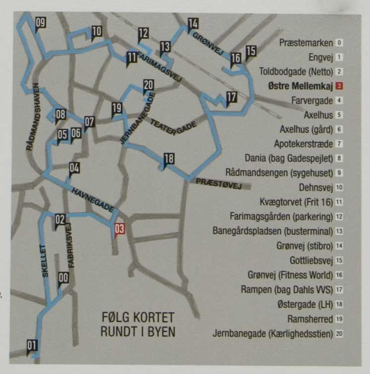 Streetart in Dänemark – Rot knallt in das Blau