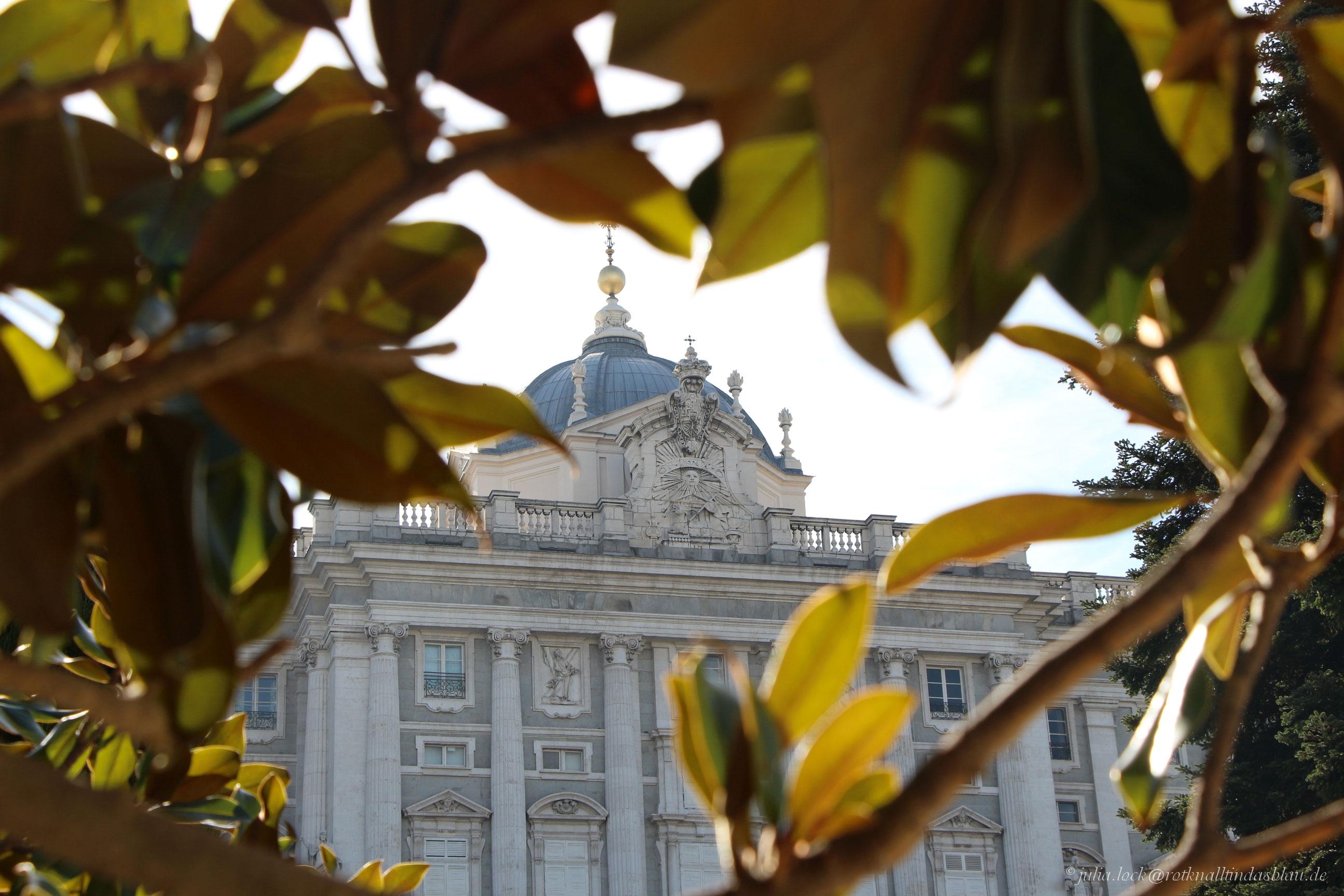 Palacio Real – spanischer Königspalast in Madrid